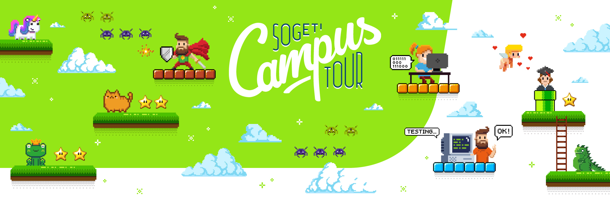 Sogeti Campus Tour 2018