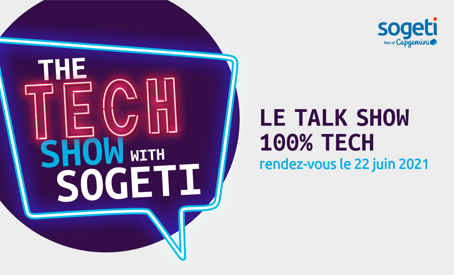 The Tech Show with Sogeti, notre talk-show mensuel 100% Tech